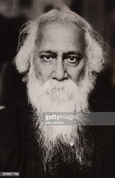 Rabindranath Tagore Indian writer and poet Ca 1920