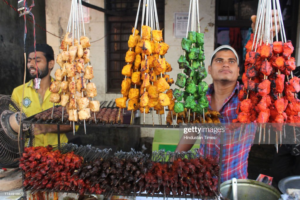 IND: People Buy Food Items To Break A Day Long Fast During Iftar In A Holy Month Of Ramadan