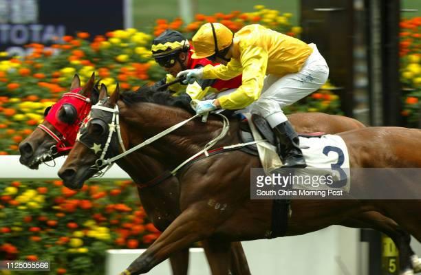 Race 1 COME HO CHOI ridden by Brett Prebble won class 5 over 1600m at Sha Tin Racecourse 24 May 2007