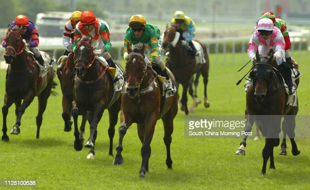 Race 1 CRAIG'S DRAGON ridden by Glen Boss won class 4 over 1200m AMAZING JOURNEY ridden by Eddy Lai Waiming LUCIA ridden by Douglas Whyte and TOUT VA...