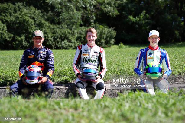 Race 1 winner in Round 3:Spielberg, Dennis Hauger of Norway and Prema Racing, race 2 winner in Round 3:Spielberg, David Schumacher of Germany and...