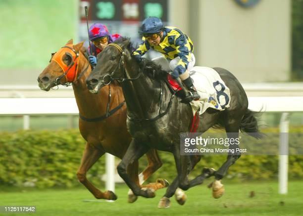 Race 10 SOLAR ENERGY ridden by Vincent Sit Shunkeung won class 3 over 1400m THUNDER DANCING ridden by Alex Lai Hoiwing at Sha Tin Racecourse 30 March...