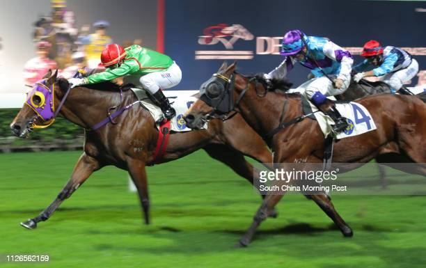 Race 2, Archer's Bow, ridden by Brett Prebble, won the class 5 over 1650m at Happy Valley on 03Dec14.