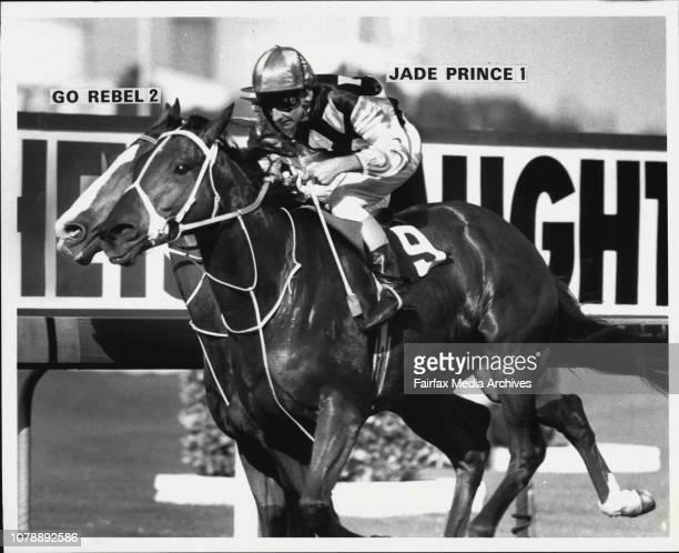 Race 4 ANZ Bank HCP Winner Jade Prince June 1 1984