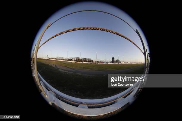 Race action during the running of the 60th Daytona 500 on Sunday February 182018 at Daytona International Speedway in Daytona Beach Florida