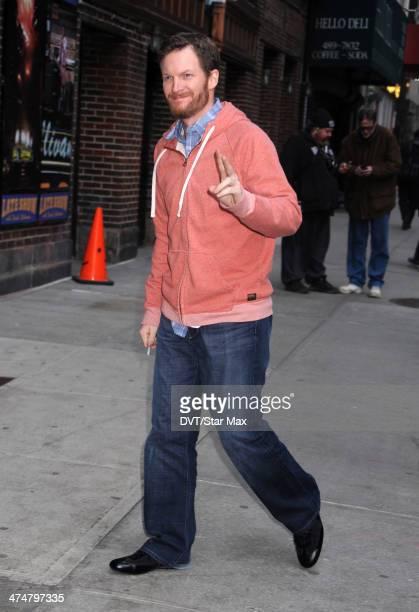 Race Car Drive Dale Earnhardt Jr is seen on February 24 2014 in New York City