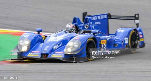 EVO race car driven by RAGUES P WEBB O AMBERG Z driving on track during the 6 Hours of SpaFrancorchamps race the second round of the 2015 FIA World...