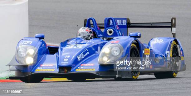 Race car driven by RAGUES P.WEBB O.AMBERG Z. Driving on track during the 6 Hours of Spa-Francorchamps race, the second round of the 2015 FIA World...