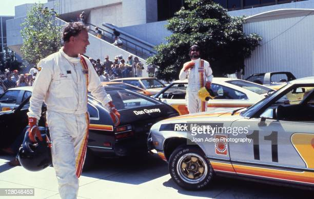 Race car driver and designer Dan Gurney at the 4th United States Toyota Grand Prix West in Long Beach California on April 8 1979
