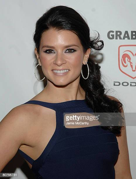 Race car driver and SI Swimsuit model Danica Patrick attends The Sports Illustrated Unveils 2008 Swimsuit Issue Press Conference at 7 World Trade...