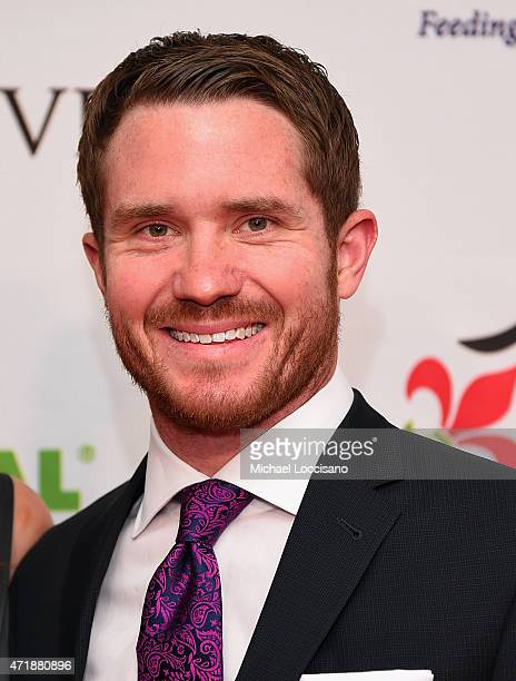 Race car driver Brian Vickers attends the 141st Kentucky Derby Unbridled Eve Gala at Galt House Hotel Suites on May 1 2015 in Louisville Kentucky