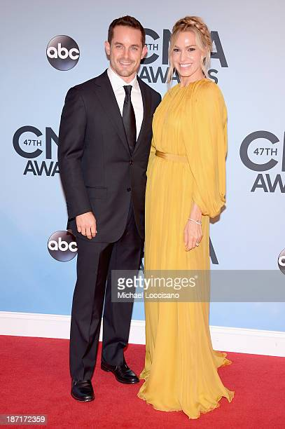 Race car driver Casey Mears attends the 47th annual CMA Awards at the Bridgestone Arena on November 6 2013 in Nashville Tennessee