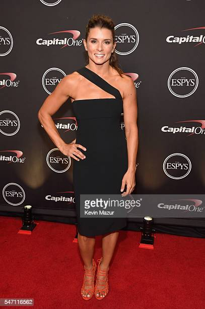 Race car driver Danica Patrick attends the 2016 ESPYS at Microsoft Theater on July 13 2016 in Los Angeles California