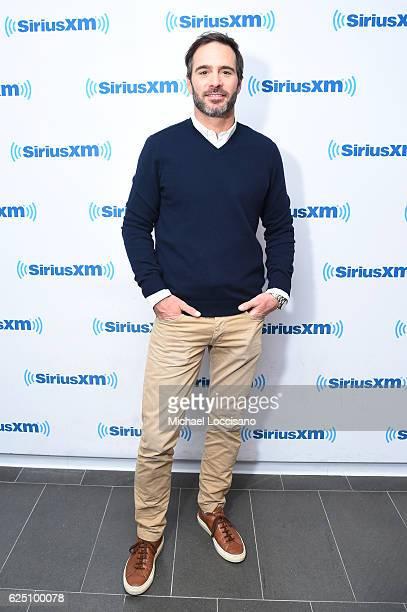 Race car driver Jimmie Johnson visits SiriusXM at SiriusXM Studio on November 22 2016 in New York City