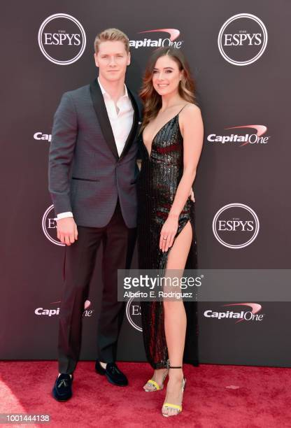 Race car driver Josef Newgarden attends The 2018 ESPYS at Microsoft Theater on July 18 2018 in Los Angeles California