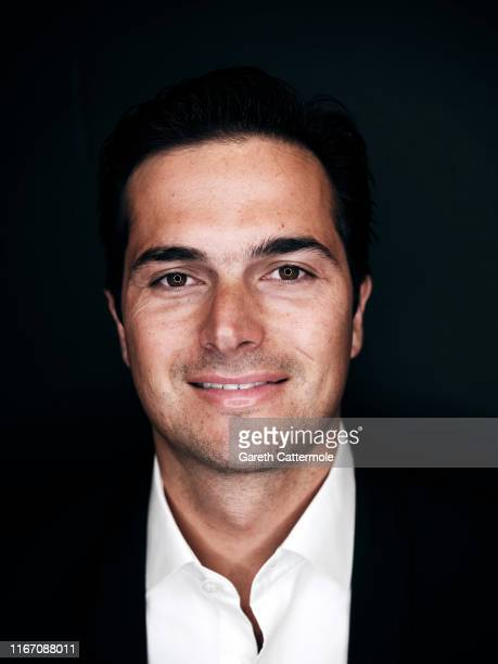 Race car driver Nelson Piquet Jr from the film 'And We Go Green' poses for a portrait during the 2019 Toronto International Film Festival at...