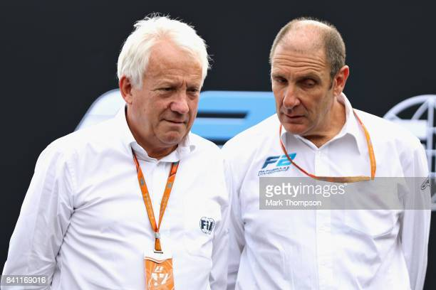 Charlie Whiting Gallery: Charlie Whiting Stock Photos And Pictures