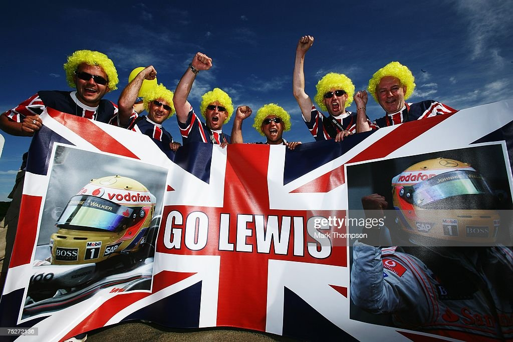 British Formula One Grand Prix: Race : News Photo