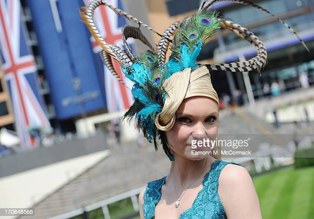 Race goers attend Day 2 of Royal Ascot at Ascot Racecourse on June 19 2013 in Ascot England