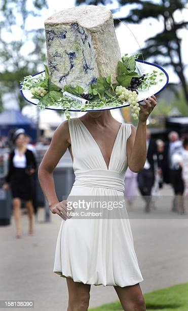 Race Goers During Ladies Day At Ascot Racecourse Berkshire
