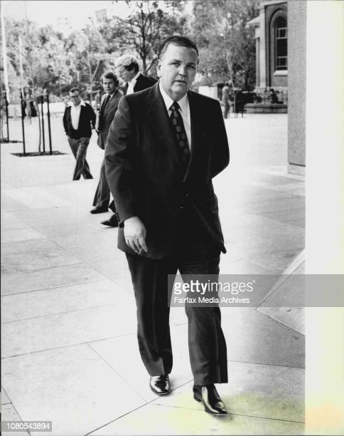 Race horse owner breeder Mr Fred Calvin arriving at the equity court this afternoon to hear the result of his ***** against a 12 months...