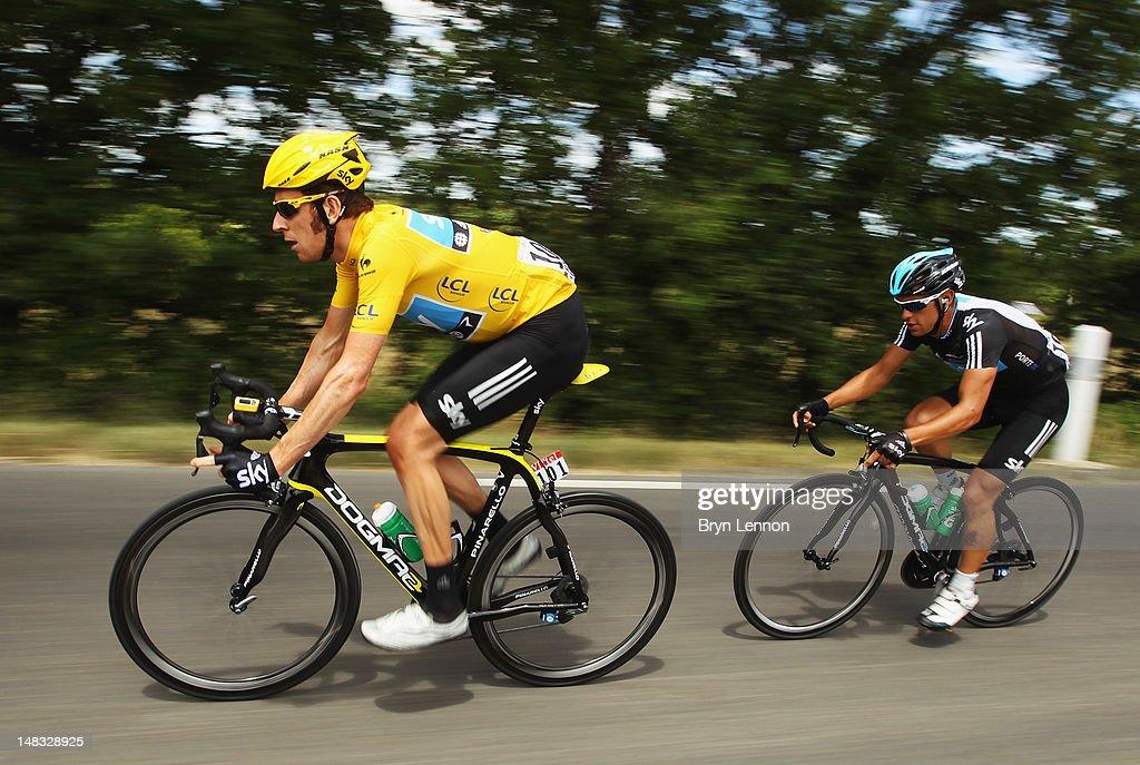 Le Tour de France 2012 - Stage Thirteen : ニュース写真
