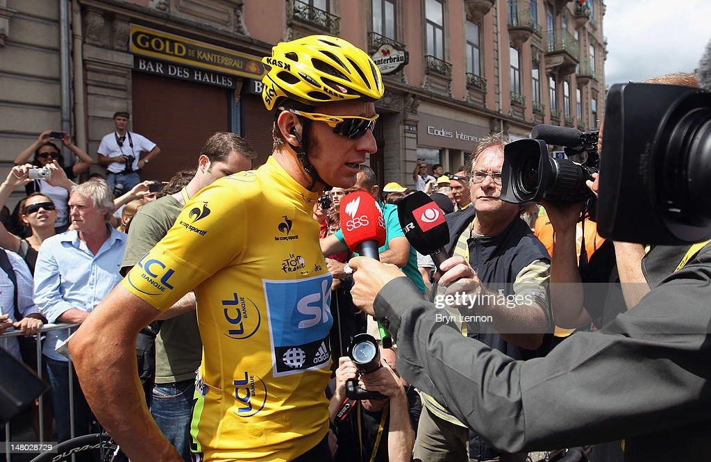 Le Tour de France 2012 - Stage Eight : ニュース写真