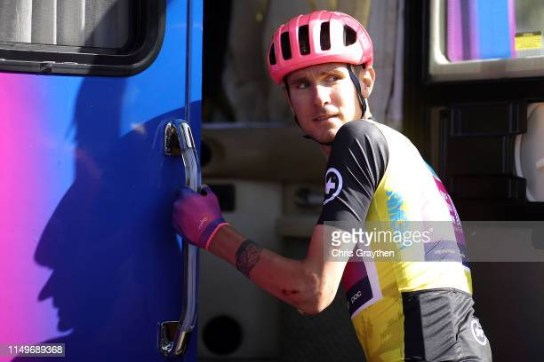 Race Leader Jersey Tejay van Garderen of The United States and Team EF Education First / during the 14th Amgen Tour of California 2019, Stage 5 a...