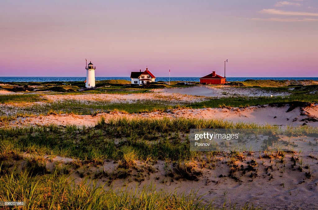 Race Point Lighthouse : Stock Photo
