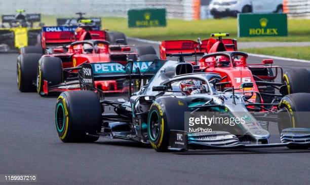 Race start at Hungarian Rolex Formula 1 Grand Prix on Aug 4 2019 in Mogyoród Hungary