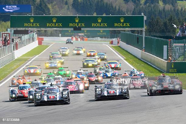 FIA WEC Race start at Spa Francorchamps