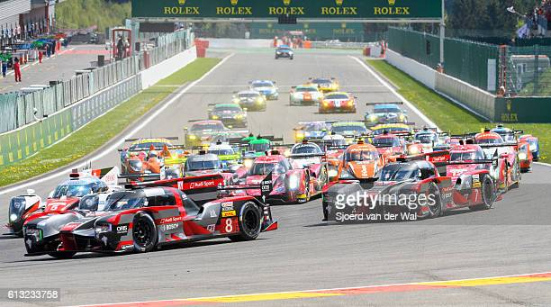 FIA WEC Race start at Spa Francorchamps with Audi