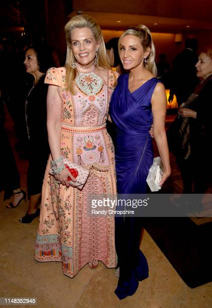 Race to Erase MS founder Nancy Davis and Camille Grammer attend the 26th annual Race to Erase MS on May 10, 2019 in Beverly Hills, California.