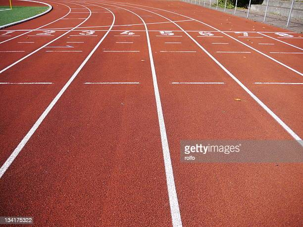 race track - track and field stadium stock pictures, royalty-free photos & images