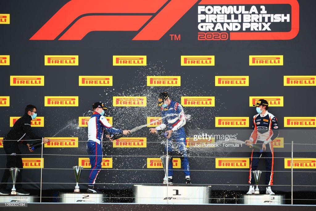 Formula 3 Championship - Round 4:Silverstone - Second Race : ニュース写真