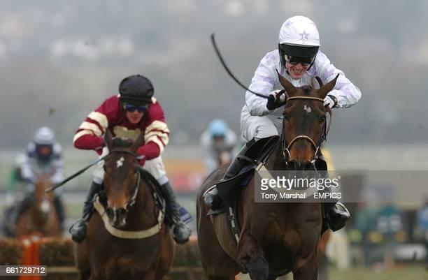 Race winner Black Jack Ketchum ridden by Tony McCoy in the Brit Insurance Novices' Hurdle