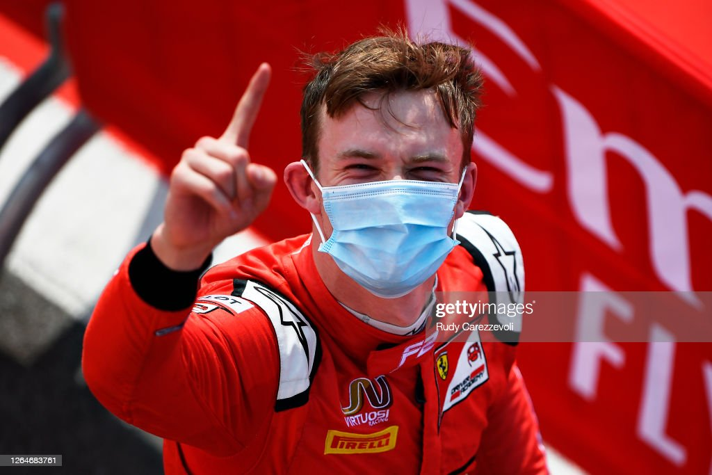 Formula 2 Championship - Round 5:Silverstone - Feature Race : News Photo