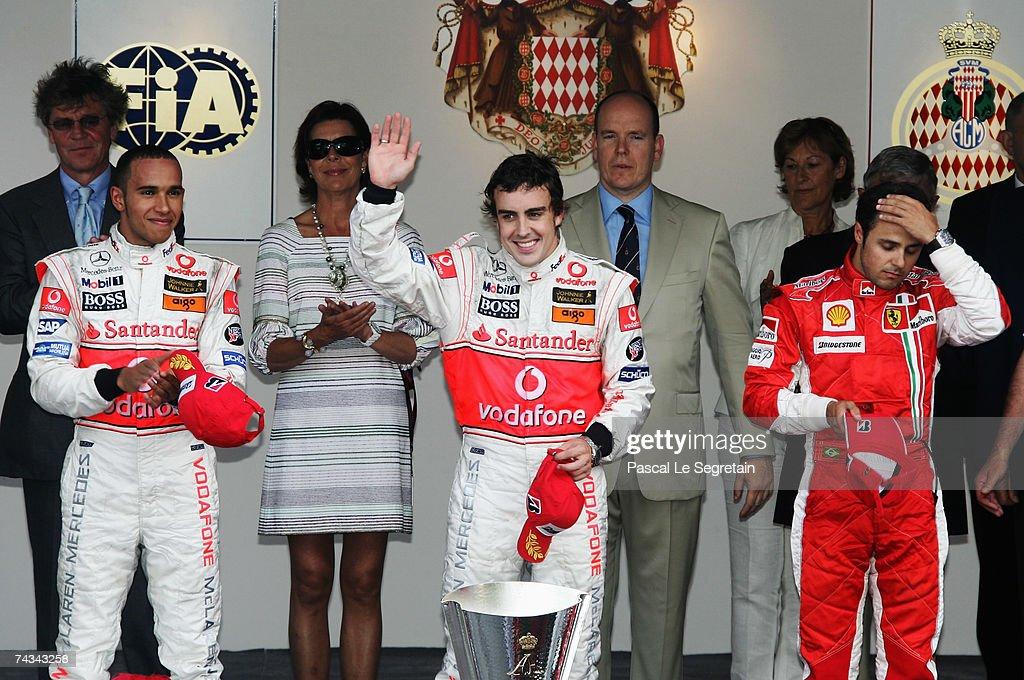 Monaco Formula One Grand Prix: Race : News Photo