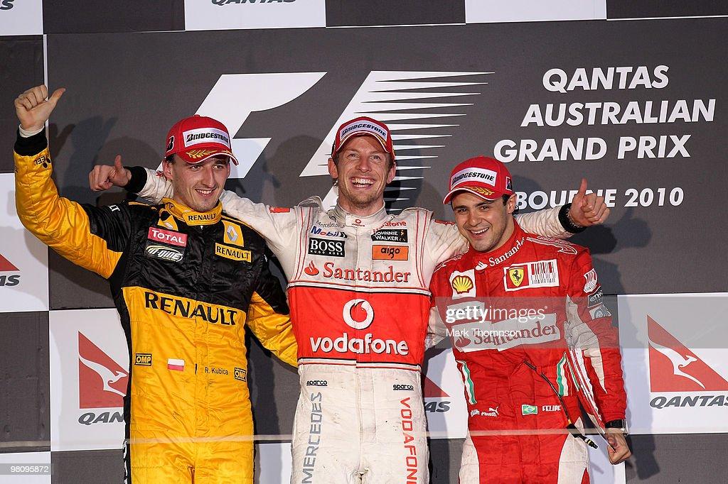 F1 Grand Prix of Australia - Race : News Photo