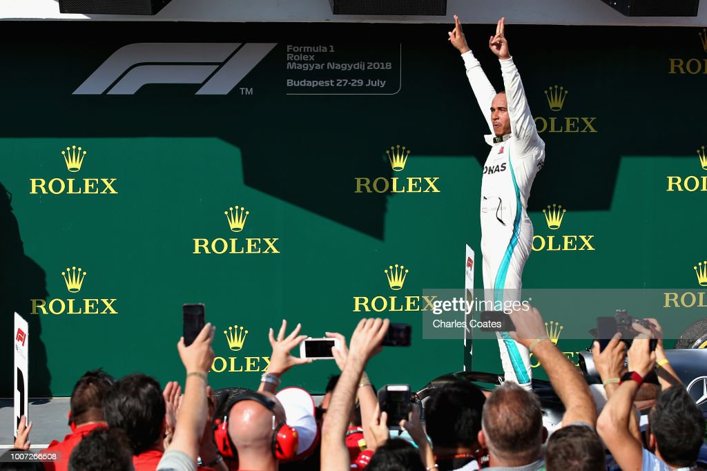F1 Grand Prix of Hungary : Foto jornalística
