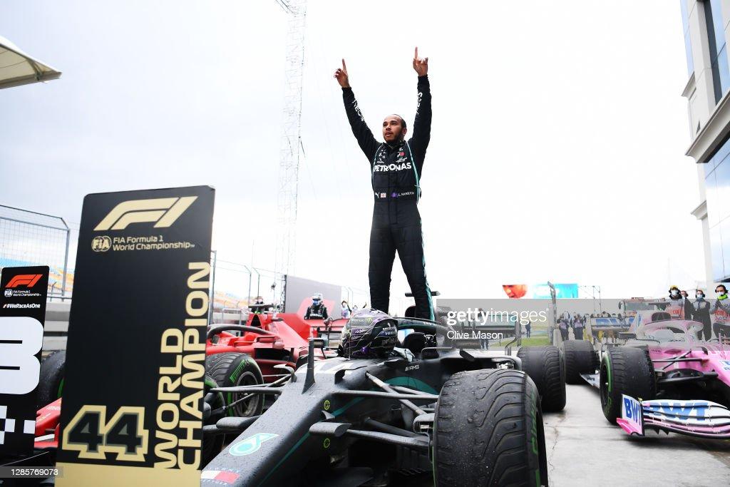 F1 Grand Prix of Turkey : Nieuwsfoto's