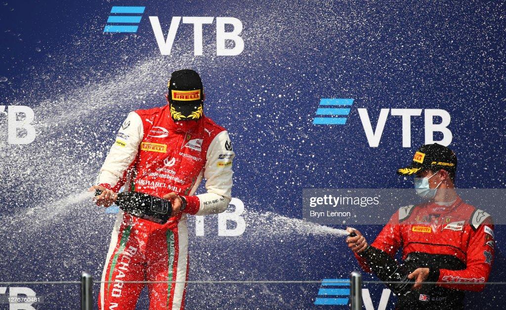 Formula 2 Championship - Round 10:Sochi - Feature Race : News Photo