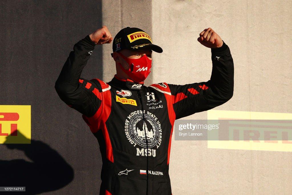 Formula 2 Championship - Round 9:Mugello - Feature Race : News Photo