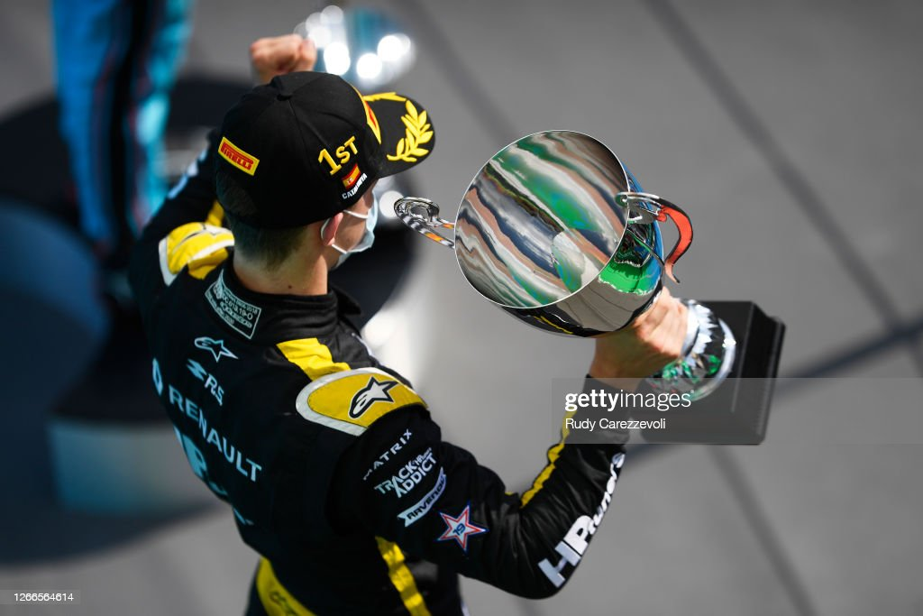 Formula 3 Championship - Round 6:Barcelona - Second Race : News Photo