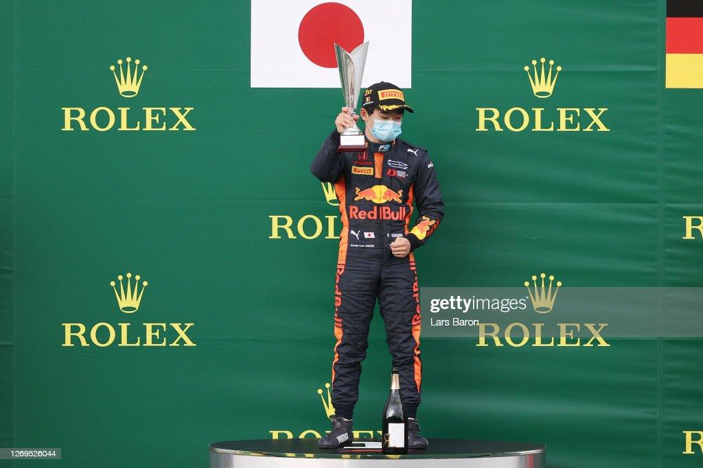 Formula 2 Championship - Round 7:Spa-Francorchamps - Feature Race : News Photo