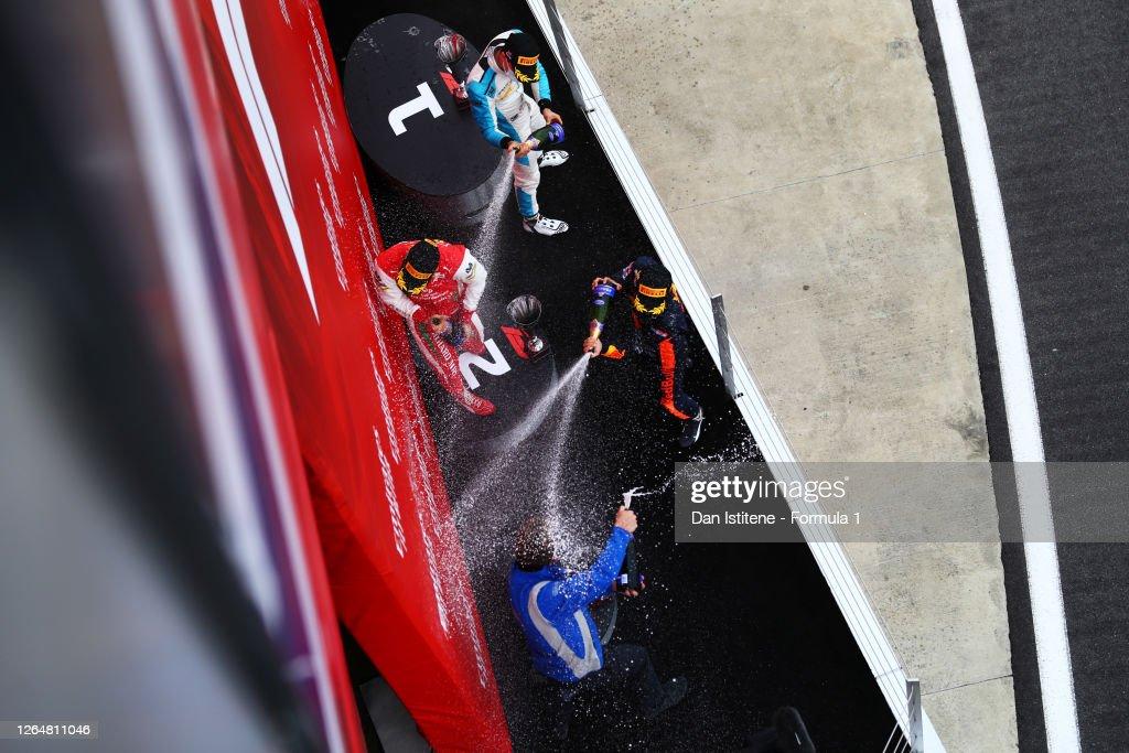 Formula 2 Championship - Round 5:Silverstone - Sprint Race : ニュース写真