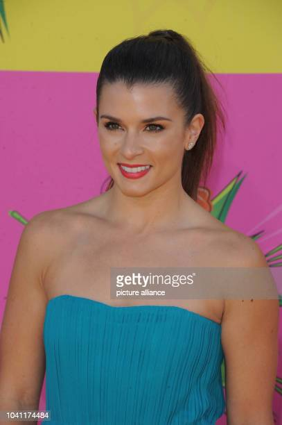 Racecar driver Danica Patrick arrives at Nickelodeon's 26th Annual Kids' Choice Awards at USC Galen Center in Los Angeles USA on 23 March 2013 Photo...