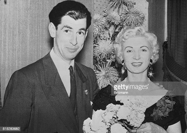 Racecar driver David Blakely with Ruth Ellis a 28yearold model and mother of two Ellis who was having an affair with Blakely shot and killed him as...