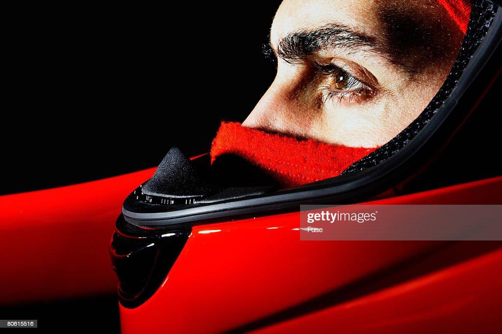 Racecar Driver : ストックフォト