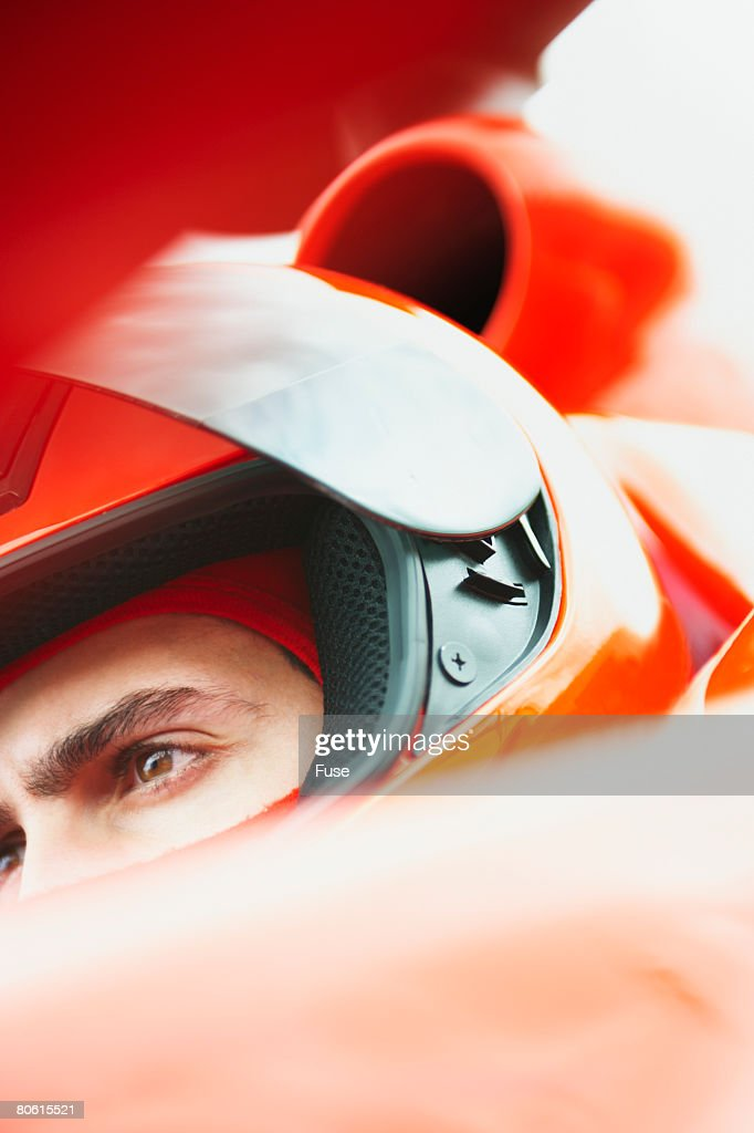 Racecar Driver : Stock Photo